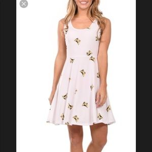 Lbisse Dresses - LBisse white Dress  with a cat picture  size M